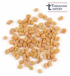 Brown Dried Fenugreek Seeds ( Methi), Packaging Type: PP Bag, Packaging Size: 25 Kg