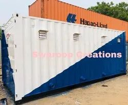 Prefabricated Mobile Toilet Container