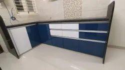 Wooden Modern Modular Kitchen