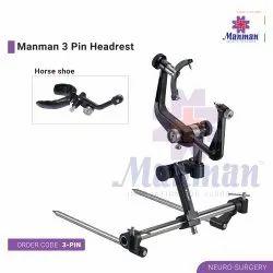 3 Pin Headrest