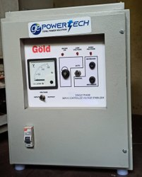Single Phase 3KVA Powertech Servo Stabilizer, For Residential, Floor