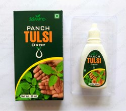 Ssure Panch Tulsi Drop with Tray 30ml SS Entrepreneurs