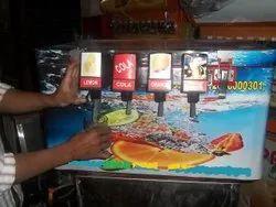 Non Electric 4 Valve Soda Machine