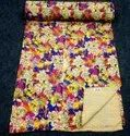 POLY PRINTED KANTH A  QUILT