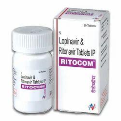 Ritocom (Lopinavir 200 Mg + Ritonavir 50 Mg)