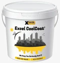 EXCEL Coatings Matt High Albedo Paint, Roof & Walls, Liquid