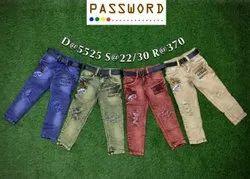 Kids Damage Jeans