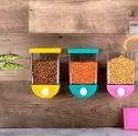 Funeiko Push Button Wall Container Set For Kitchen 3 1100 Mlrandom Color3 Unit