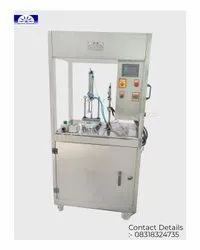 Round Soap Pleat Wrapping Machine .