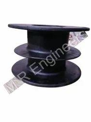 Hose Reel Drum L2d Boomer Spare Parts, For Industrial, Diameter: 350mm