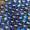 Natural Blue Moonstone 6mm Round, Handmade Gemstone Making For Jewellery