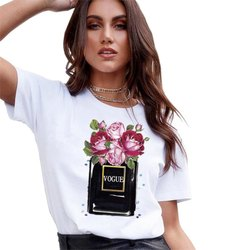 25 Poly Cotton Printed T Shirt