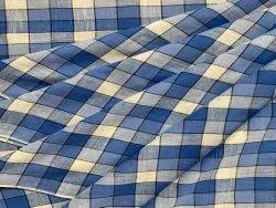 Customised Handloom Check Fabrics
