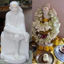 Sai Baba Statue made in Premium Quality Pure White Vietnam Marble
