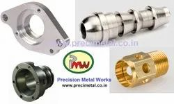 Turned CNC Machining Of Ferrous And Nonferrous Parts