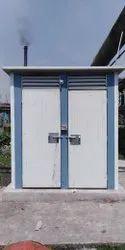 Puff Readymade Twin Toilet Cabin