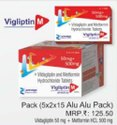 Vildagliptin and Metformin Hydrochloride Tablets