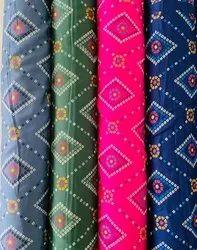 Rayon Printed Fabrics 58 Inch