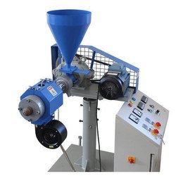 Semi Automatic Jockey Plastic Extruder Machine, For Industrial