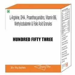 L-Arginine DHA Proanthocyanidin Vitamin B6 Methylcobalamin And Folic Acid Granules