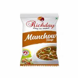 Spirulina Manchow Tomolina Soup