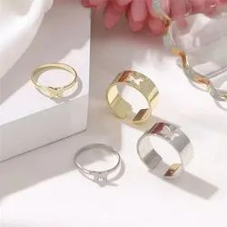 Butterfly Set Couple Love Ring