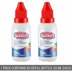 Lemon Zest Luxor Nano Hand Sanitizer Refill Pack