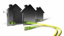 Optical Fibre Home based broadband, 24*7*365 Days, Unlimted