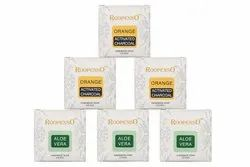 Aloevera & Orange Activated Charcoal Soap