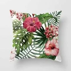 Flower Printed Polyester Digital Cushion Covers Printing Service, Noida