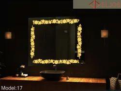 Square LED Mirror