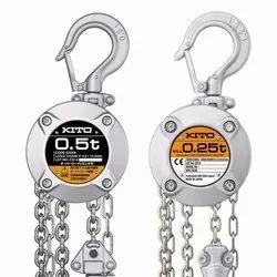 KITO CX Series Chain Pulley Block