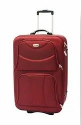 NON BRANDED Nylon red-stylish-suit-case, For Travel Gear