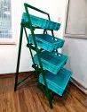 Foldable Fruit And Vegetable And Bread Rack( Trays And Crates Sold Separately)
