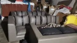 Leather Sofa Set, For Office