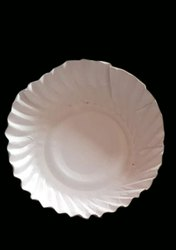 Circular Plain 3mm Disposable Paper Plate, For Event and Party Supplies, Size: 7inch