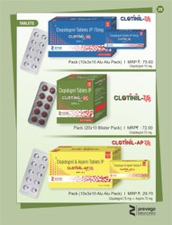 Clopidogrel and Aspirin Tablets IP