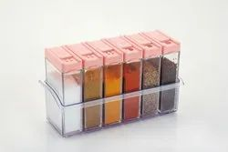 plastic Transparent Kitchen Containers, For Storage Of Kichen Product