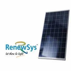 Polycrystalline 24V Renewsys Solar Panels 330watt