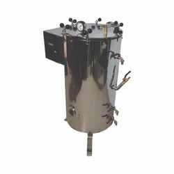 Vertical Triple Walled High Pressure Wing Nut Autoclave
