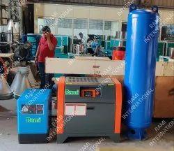 25 HP Screw Air Compressor Direct Driven