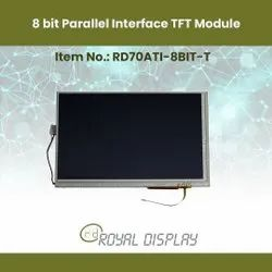 7 TFT with 8 Bit Interface