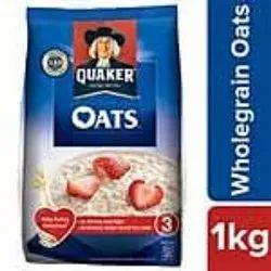 White Quaker Oats 1kg, Gluten Free