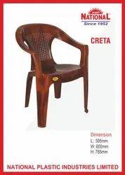 National Creta Plastic Chair