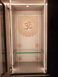 Warm White Temple LED Glass Door, Interior, 10 W