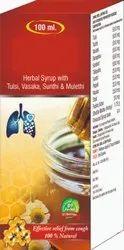 Herbal Syrup With Tulsi, Vasaka, Sunthi & Mulethi Syrup