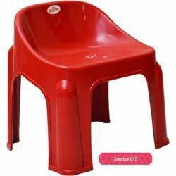 Red Kids Plastic Stool