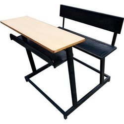 Perforated Sheet School Desk