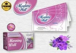 Morning Well Premium Wet Wipes With Lavender Fragrance