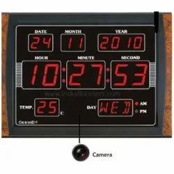 Digital Clock Spy Camera